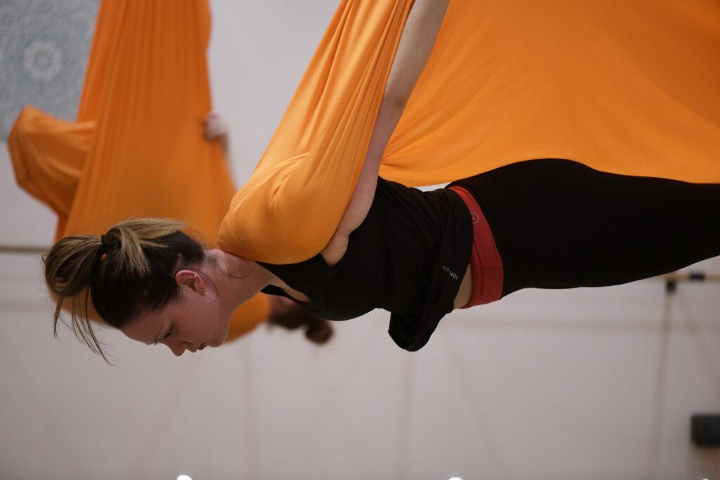 Hot Lotus aerial yoga